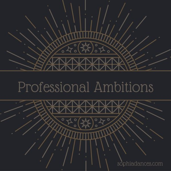 Professional Ambitions Banner