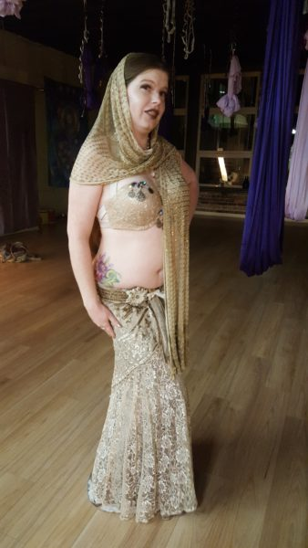 Ghost Costume for Belly Dance