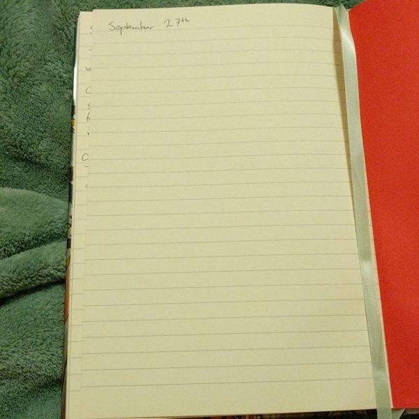 My dance journal