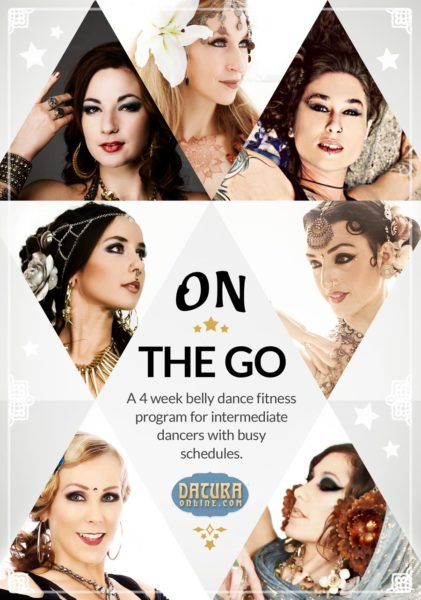Datura Online's On the Go belly dance training program